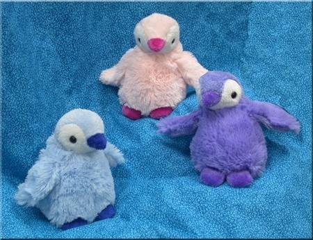 "Wishpets 5"" Baby Penguin Plush Toy (Assorted of 3)"