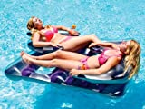 Face to Face Double Inflatable Pool Float