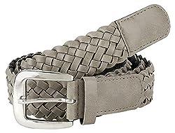 Jainsons Women's Belt (DTP_BELT_1058_1--28, Beige, 28)