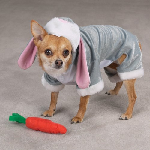 Easter bunny dog costume