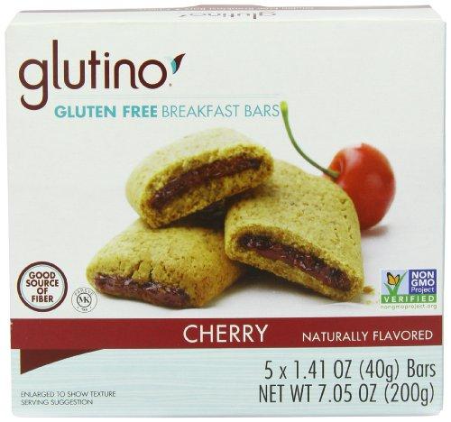 Glutino Gluten Free Breakfast Bars, Cherry, 7.05 Ounce (Gluten Free Breakfast Bars compare prices)