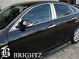 BRIGHTZ アテンザスポーツ ( セダン ) GH 超鏡面ステンレスメッキピラーパネル バイザー無用 12PC GH5AS GH5FS GHEFS GH5AS アテンザ スポーツ セダン 10965