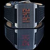 INFINITY Libra Spacke Black LED Watch for Him Matrix Display