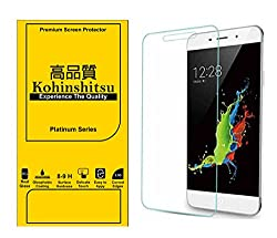 Kohinshitsu Platinum Series Premium 0.3mm Temepered Glass Screen Guard for Coolpad Note 3 & Coolpad Note 3 Plus Mobile Phone 2016 Model with Oleophobic Coating / 9H Hardness / 2.5D Curved Edges.