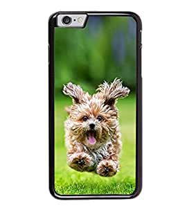 Bichon Frise Running in Lawn Back Case Cover for APPLE I PHONE 6S PLUS