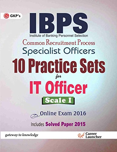 IBPS Specialist Officers 10 Practice Sets for IT Officer Scale I Image
