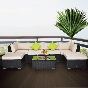 salon de jardin jardin canape convertible tresse poly. Black Bedroom Furniture Sets. Home Design Ideas