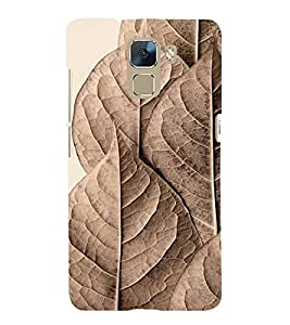 Brown Pattern 3D Hard Polycarbonate Designer Back Case Cover for Huawei Honor 7 :: Huawei Honor 7 Enhanced Edition :: Huawei Honor 7 Dual SIM