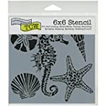 "Crafter's Workshop Template 6""X6""-Sea..."