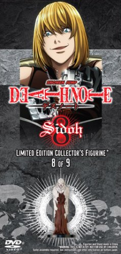 Death Note Vol. 8 with Limited Edition Shidoh Figurine
