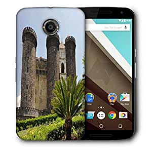 Snoogg Tower Palace Designer Protective Phone Back Case Cover For Motorola Nexus 6