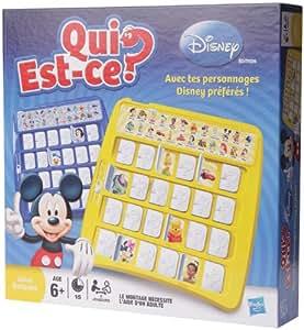 Hasbro - 84371 - Jeu de Société - Qui Est-Ce - Disney Refresh Exc Spe