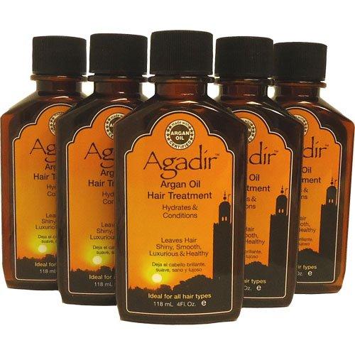 "Agadir Argan Oil Hair Treatment 5pcs X 4oz "" Big Sale """
