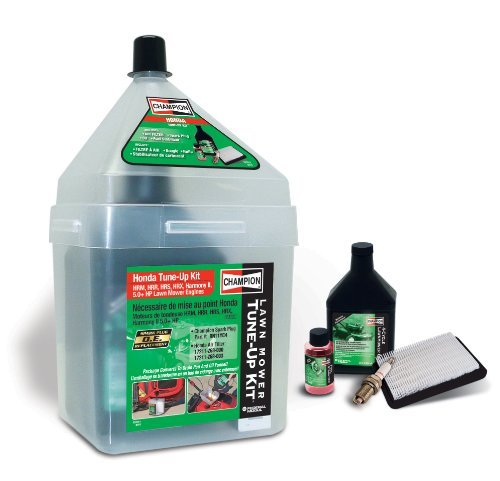 Champion Hm22 Lawn Mower Tune-Up Kit, Honda Hrr, Hrx, Hrm, 5.0 Hp And Larger Mulchers Outdoor/Garden/Yard Maintenance (Patio & Lawn Upkeep)