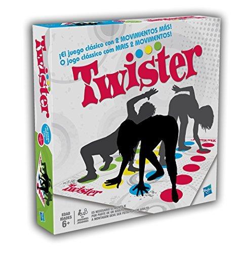 Hasbro Gaming - Juego de suelo Twistter (98831175) (versión española/portuguesa)