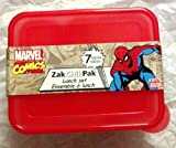 Marvel Comics The Amazing Spider-Man ~ 7 pieces Lunch Set