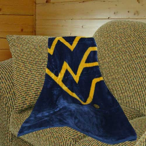 Gold Throw Blanket front-1060732