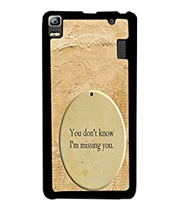 PrintVisa Metal Printed Quotes Designer Back Case Cover for Huawei P8-D4940