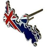 【Cat fight】 イギリス 国旗 ユニオンジャック 立体 金属製 フロント グリルバッジ デコレーション エンブレム