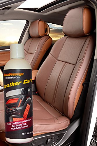 16oz leather conditioner cleaner by carepresitige the best leather care treatment for your. Black Bedroom Furniture Sets. Home Design Ideas