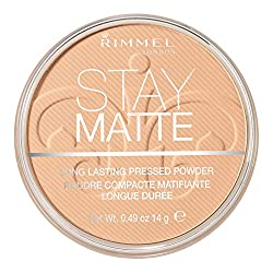 Rimmel Stay Matte Pressed Powder Nude Beige 0.49 Ounce