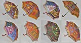 Traditional Embroidery Summer Umbrella For Kids 24 X 28 Inches 10 Pcs Set
