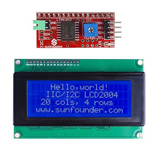 sunfounder-iic-i2c-twi-serial-2004-20x4-lcd-module-shield-for-arduino-uno-mega2560