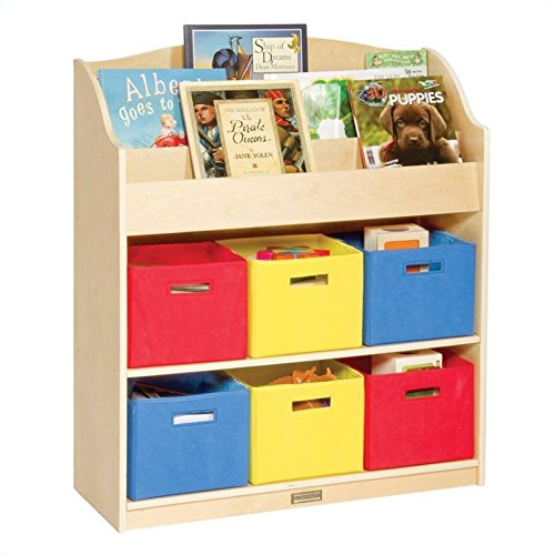 Guidecraft Book & Bin Storage Set - 1