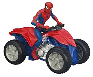 Spider man 98722 figurine spider man movie v hicule zoom 39 n 39 go quad jeux et - Quad spiderman ...