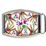 Color by Hand Kids Belt Buckle