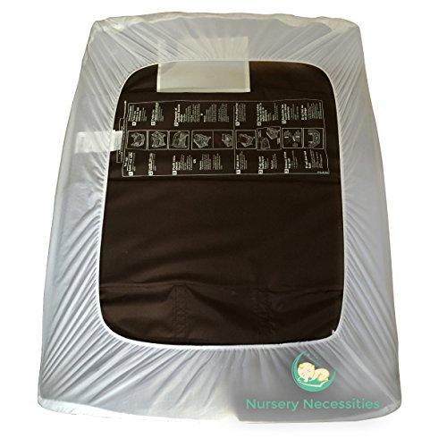 1 best pack n play waterproof mattress pad fits all mini portable crib mattresses silky. Black Bedroom Furniture Sets. Home Design Ideas