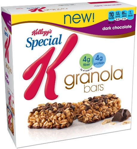 ... Special K Granola Bar, Dark Chocolate, Weight Watchers Points Plus