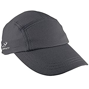 Headsweats Women's Race Performance Running/Outdoor Sports Hat (One Size) (Black)