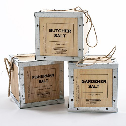 Infused French Sea Salt Rubs - Butcher (17.6 ounce) (Butcher Salt Box compare prices)