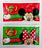 Jelly Belly Mickey and Minnie Mouse Christmas Jelly Beans 1.2-Ounce Packs: 24-Piece Display