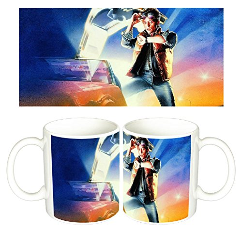 Regreso Al Futuro Back To The Future Michael J. Fox A Tazza Mug