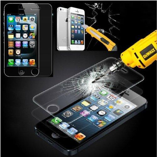 Protector-de-Pantalla-para-Iphone-55S5CSE-Cristal-Vidrio-Templado-Premium-de-Electrnica-Rey