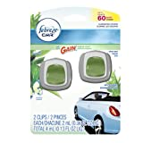 Febreze Car Gain Original Air Freshener (2 Count, 2 Ml Each), 0.13 Ounce