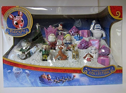Rudolph Ultimate PVC Figures 50th Anniversary Collection by Rudolph the Red Nosed Reindeer