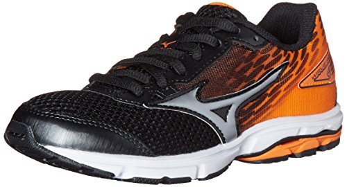Mizuno-Wave-Rider-19-Junior-Running-Shoe-Little-KidBig-Kid