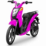 Jetson Eco-Friendly Electric Bike - Magenta Pink
