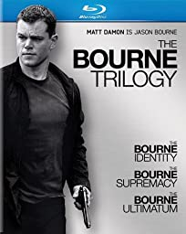 The Bourne Trilogy (The Bourne Identity / The Bourne Supremacy / The Bourne Ultimatum) [Blu-ray]