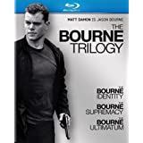 The Bourne Trilogy (The Bourne Identity / The Bourne Supremacy / The Bourne Ultimatum) [Blu-ray] ~ Matt Damon