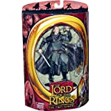 HELM'S DEEP LEGOLAS with Sheild Skateboard from THE LORD OF THE RINGS: THE TWO TOWERS Action Figure
