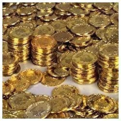 [Best price] Novelty & Gag Toys - Rhode Island Novelty Gold Coins, 144-Piece - toys-games