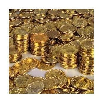 Set A Shopping Price Drop Alert For Rhode Island Novelty Gold Coins, 144-Piece