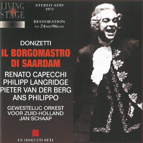 Il Borgomastro - Donizetti - CD