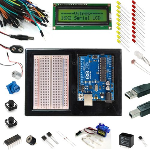 Arduino Arduino Uno Ultimate Starter Kit + LCD Module — Includes 72 page Instruction Book