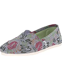 Women S Classic Rope Slip-On Multi Chambray Abstract 12 B(M) US