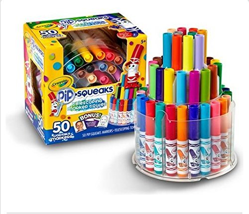 crayola-pip-squeaks-washable-markers-telescoping-marker-tower-50-count-great-for-home-or-school-art-